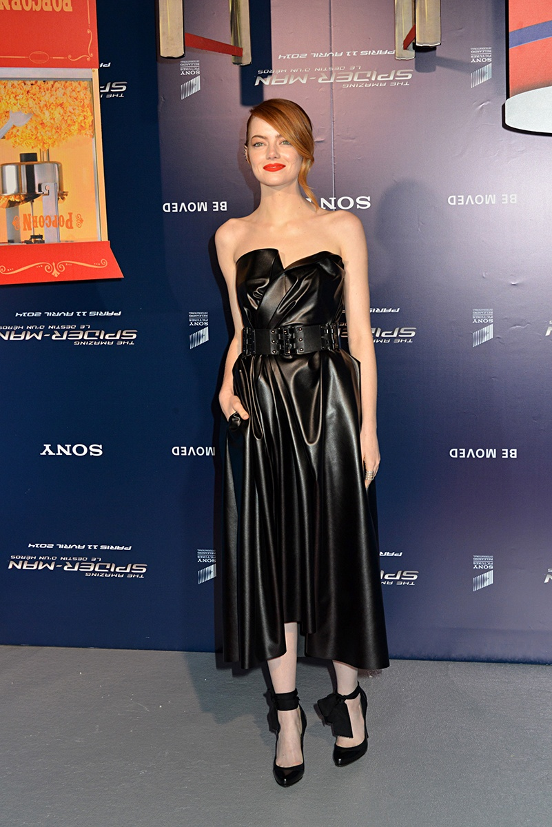 Emma Stone Red Carpet 2014