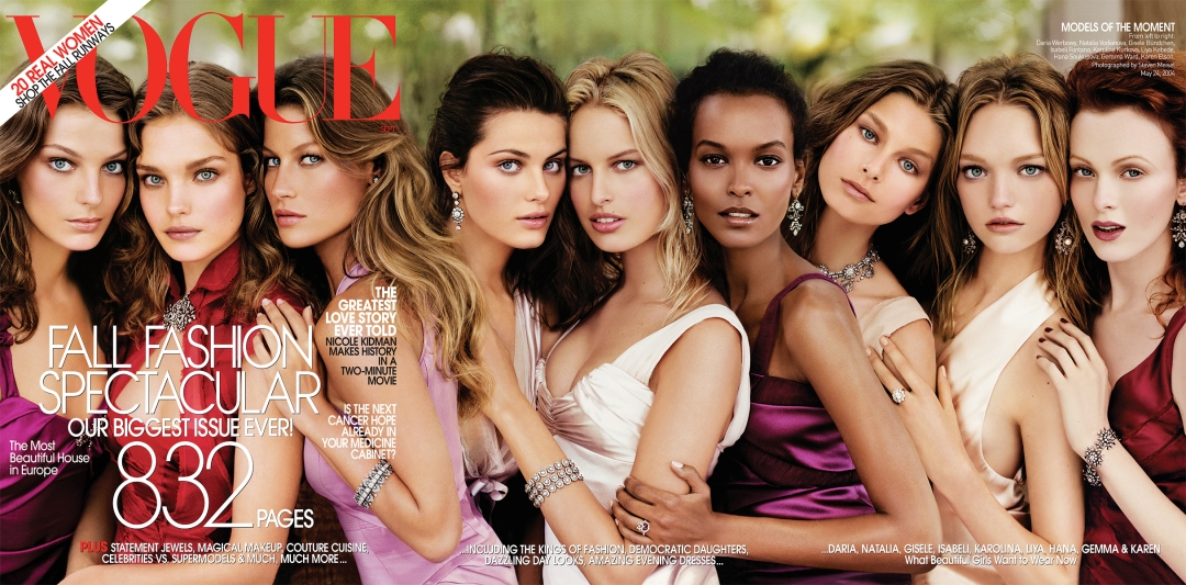 Models Cover Vogue's September Issue – Finally! – Casey Wagar