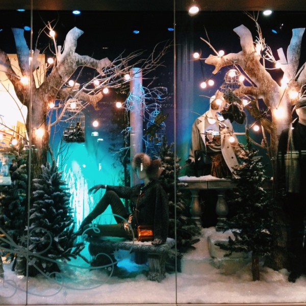 One of the incredible window displays.