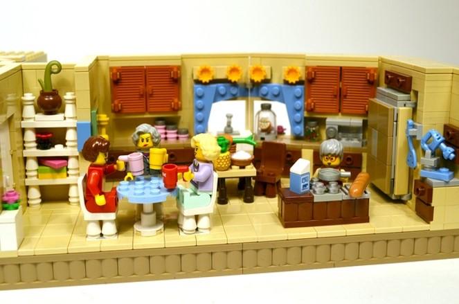 Golden Girls Lego