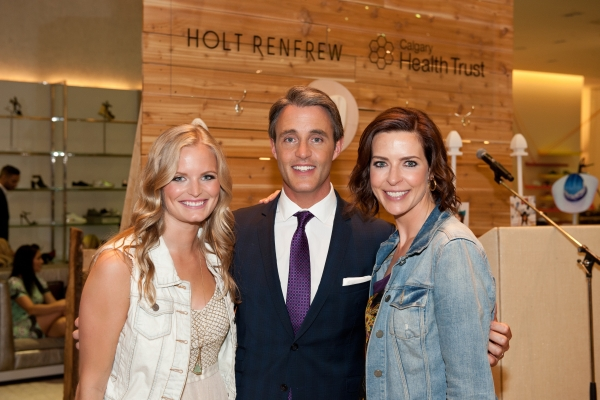 Caitie Lawrence, Ben Mulroney, Tracy Logan