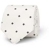 Givenchy cross-print tie