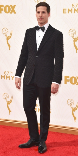 LOS ANGELES, CA - SEPTEMBER 20: Host Andy Samberg attends the 67th Annual Primetime Emmy Awards at Microsoft Theater on September 20, 2015 in Los Angeles, California. (Photo by John Shearer/WireImage)