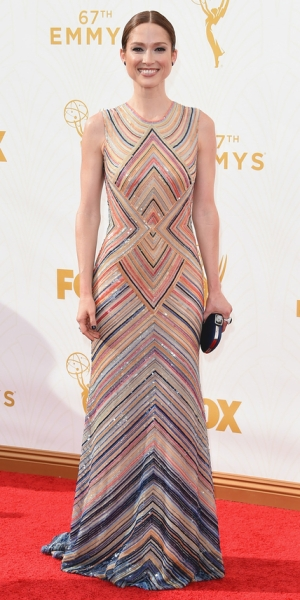 LOS ANGELES, CA - SEPTEMBER 20: Actress Ellie Kemper attends the 67th Annual Primetime Emmy Awards at Microsoft Theater on September 20, 2015 in Los Angeles, California. (Photo by Jason Merritt/Getty Images)