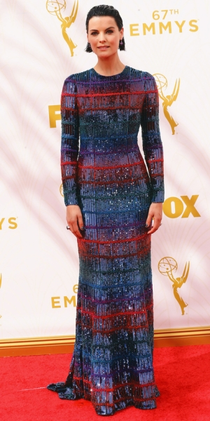 LOS ANGELES, CA - SEPTEMBER 20: Actress Jaimie Alexander attends the 67th Annual Primetime Emmy Awards at Microsoft Theater on September 20, 2015 in Los Angeles, California. (Photo by Mark Davis/Getty Images)