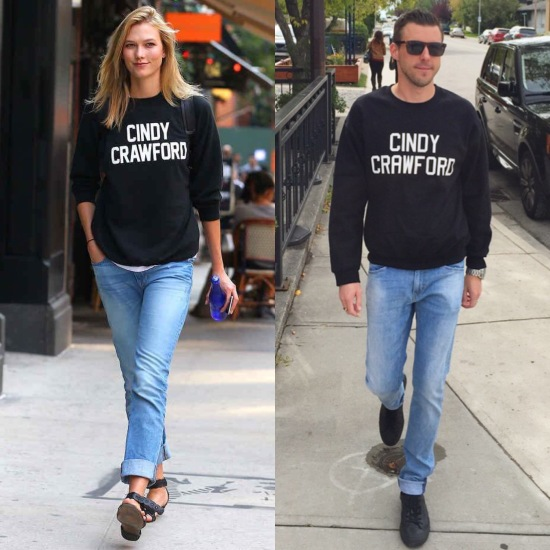 Cindy Crawford sweatshirt