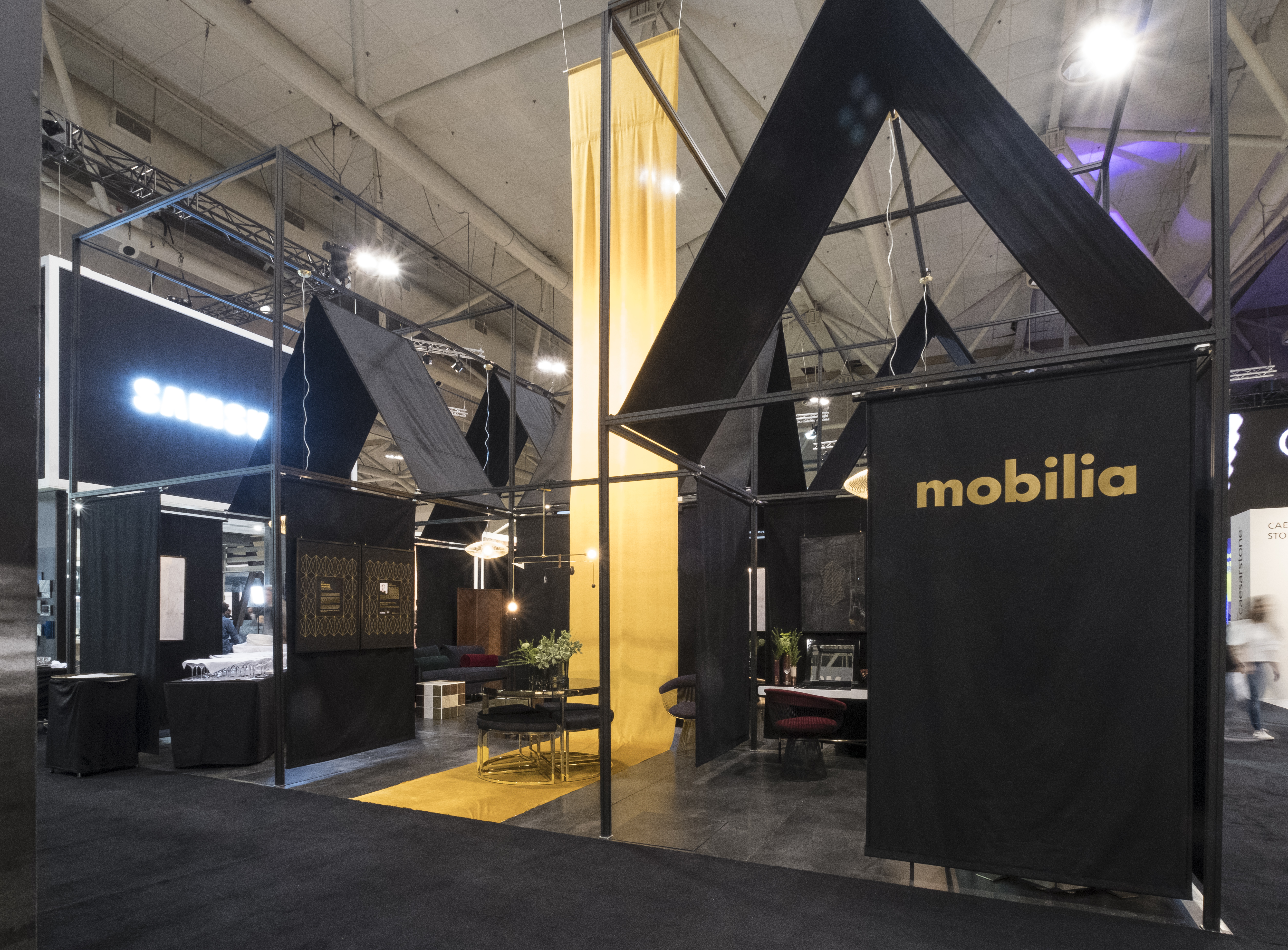 Mobilia s new collection shines at the interior design for Mobilia toronto